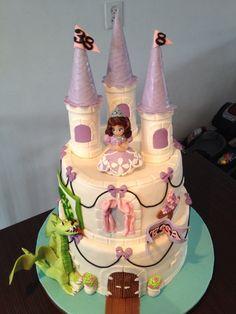 Prinses Sofia cake