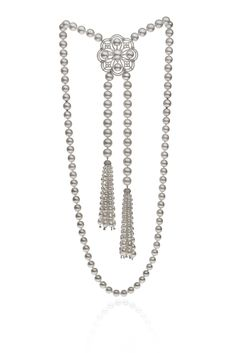 Autore Lariat White Gold with Diamonds and South Sea pearls Fine Jewelry, Jewellery, Pearl Necklaces, South Sea Pearls, South Seas, Royal Jewels, Queen, Classic Style, Diamonds