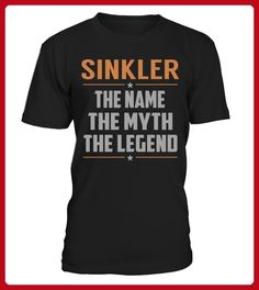 SINKLER The Name Myth Legend - Shirts für singles (*Partner-Link)