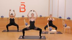 """""""barre 3"""" ballet on-line video workout created for Prevention Magazine..."""