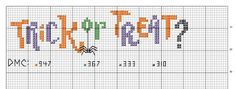 Romy's Cross Stitch Patterns: halloween