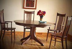 Mesas de madeira - http://www.dicasdecoracao.com/mesas-de-madeira/