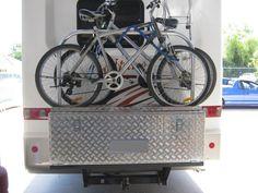 Camper Bike Rack and Tool Box Custom made drawers and bike racks Perth