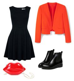 """""""Untitled #149"""" by ana-zelic ❤ liked on Polyvore featuring WithChic, Oasis and MANGO"""