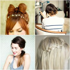 Cute little mashup of cute hairstyles