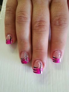 Pink and black ALWAYS fun! !!