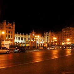 #valencia #railwaystation #españa #spain #vacation #nighttime #nightlife Valencia, Nightlife, Street View, Vacation, Instagram, Vacations, Holidays Music, Holidays