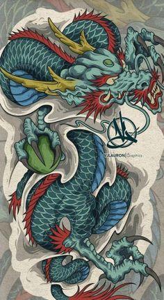 Ideas Tattoo Back Sleeve Art Designs Ideas Tattoo Back Sleeve Art DesignsYou can find Japanese dragon and more on our Ideas Tattoo Back Sleeve Art Designs Ideas. Dragon Tattoo Images, Dragon Tattoo Art, Chinese Dragon Tattoos, Dragon Sleeve Tattoos, Dragon Artwork, Dragon Tattoo Designs, Dragon Japanese Tattoo, Japanese Tattoo Art, Japanese Tattoo Designs