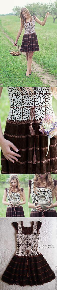 Романтичное платье от Алена Завеля +мк от Алены.