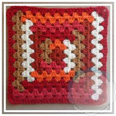 LOG CABIN GRANNY Tutorial skill level: Easy Tutorial by: Creative Crochet Workshop