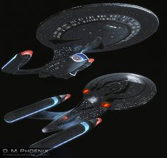 Federation prototype.  Allegiance-class long range, extended mission battlecruiser. like a Galaxy-class but redesigned with the tech of the Sovereign-class and made for ship to ship combat.  Less exploration and more destruction!