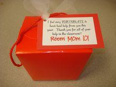 Room Mom 101: Parent Volunteer Gifts