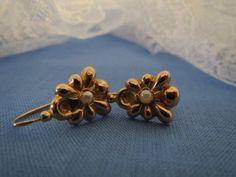 Romantic French Art Deco 18K Rose Gold by DoubleRainbowAntique
