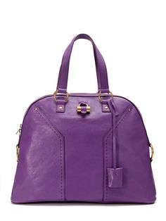 Muse Oversize Dome Satchel by YSL ♥