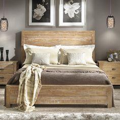 Found it at Wayfair - Grain Wood Furniture Montauk Panel Bed - Size: Queen Master Bedroom, Bedroom Decor, Bedroom Ideas, Bedroom Styles, Bedroom Lighting, Bedroom Colors, Bedroom Designs, Master Suite, Wood Beds