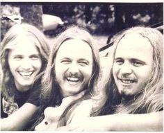 The Van Zant brothers - Johnny, Donnie, Ronnie Van Zant Brothers, Allman Brothers, Great Bands, Cool Bands, Good Music, My Music, Lynard Skynard, Ronnie Van Zant, Rock Legends