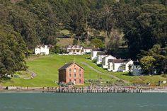 Angel Island East Garrison, San Francisco Bay, CA