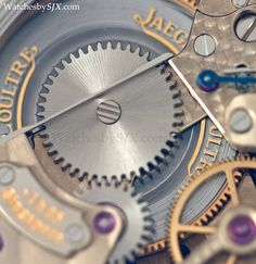 Detail on JLC Gyrotourbillon Perpetuel, in platinum, limited edition