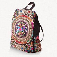 Main Material: Canvas Decoration: Embroidery Gender: Women Pattern Type: Floral…