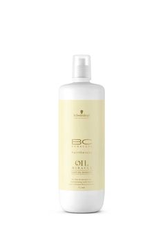 Schwarzkopf Professional BC hairtherapy Oil Miracle Light Oil Shampoo for fine to normal hair 1000ml.