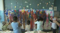 UC Davis Children's Hospital offers art therapy for its patients every weekday afternoon. Led by art therapist Katie Lorain, art group offers opportunities f. Childrens Hospital, Art Therapy, Painting, Led, Group, Health, Health Care, Children's Clinic, Painting Art