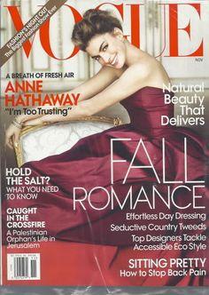 Anne Hathaway Vogue Magazine Nov 2010 Fashions Night Out SEALED