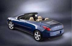 Pontiac G6 Convertible Blue Color