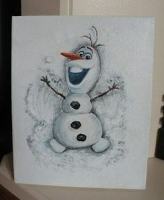 Olaf the snowman - Frozen