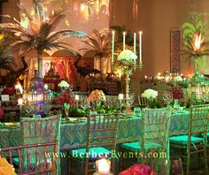 moroccan party | Moroccan Theme Birthday party at the fontainebleau Miami Beach ...