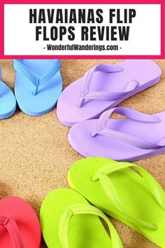 Thinking to get yourself a flip flop for beach day? Read here for the pros and cons of this famous sandal brand, the Havaianas. #travelgear #travelessential #travelsandal #sandalsummer #flipflops #havaianas