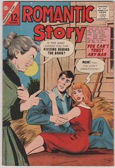 Romantic Story V1 80. VF.  Dec  1965. by RubbersuitStudios on Etsy, $20.00 #comics #romancecomics