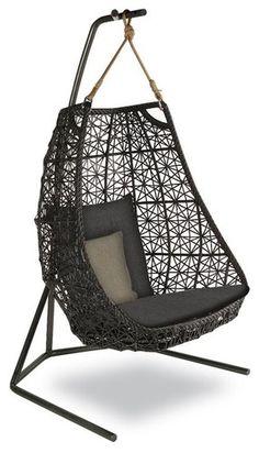 KETTAL MAIA Egg swing - modern - outdoor swingsets - Kettal