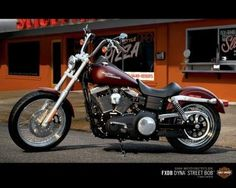 Street Bob- My dream bike.