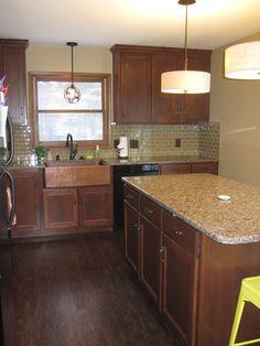 Ferner Stain On Alder Woodcountertops Are Vicostone Quartz In Mesmerizing Kitchen Wood Countertops Decorating Design