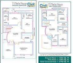 7 Marla House Map : Marvelous 7 Marla House Plan Best Of 7 Marla House Plans Civil Engineers Pk 7 Marla House Map Image. 7 marla house marla house map marla house map double marla house map in pakistan 40x60 House Plans, Duplex Floor Plans, House Layout Plans, Bungalow House Plans, Small House Plans, House Floor Plans, The Plan, How To Plan, Home Map Design