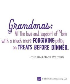 Don't mess with Grandma when at her house...Lol
