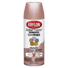 Metallic Rose Gold Spray Krylon