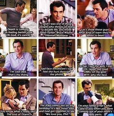 Phil dunphy. Modern family.