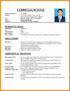 Format for Curriculum Vitae. 25 format for Curriculum Vitae. An Example Of Curriculum Vitae Salodfinedtraveler Resume Pdf, Sample Resume Format, Resume Format Download, Basic Resume, Job Resume Template, Cv Template, Professional Resume, Free Resume, Simple Resume
