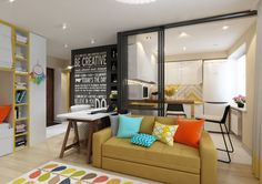 Are you looking for ways to make the most of your small floorplan? Each of these four homes occupies less than 300 square feet (27 square meters) but packs an i