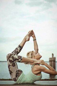 Amazing yogi... and I'm so in love with the leggings too! Perfect for yoga or running