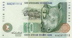 10 randów - awers