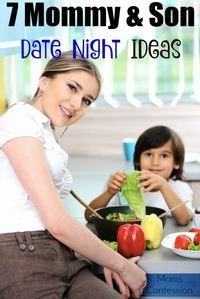 Mommy and son date night ideas are great for building better communication with your child! Use our date night ideas for a great mommy and son outing!