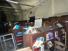 Abandoned Public Library, Detroit, MI