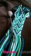 Resultado de imagen para ply split braiding tutorial Inkle Weaving, Card Weaving, Tablet Weaving, Wiggly Crochet, Crochet Art, Tapestry Crochet, Braid Patterns, Macrame Patterns, Crochet Patterns