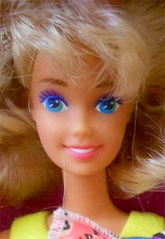 1991 Snap'n play Barbie