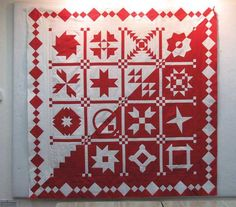 red and white quilts new york city | Red and White Exhibit Inspires a Group to Make Their Own Lovelies