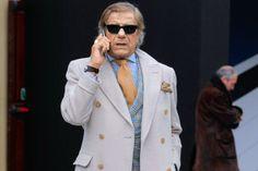 Lino Ieluzzi - ikona włoskiego stylu, fot. Jacopo Raule/Getty Images
