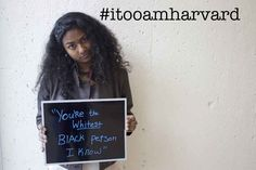 63 Black Harvard Students Share Their Experiences In A Powerful Photo Project