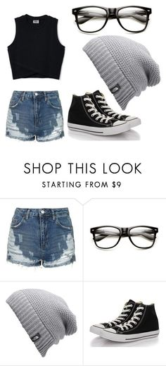 """Day out with family"" by bethie7 ❤ liked on Polyvore featuring Topshop, The North Face and Converse"